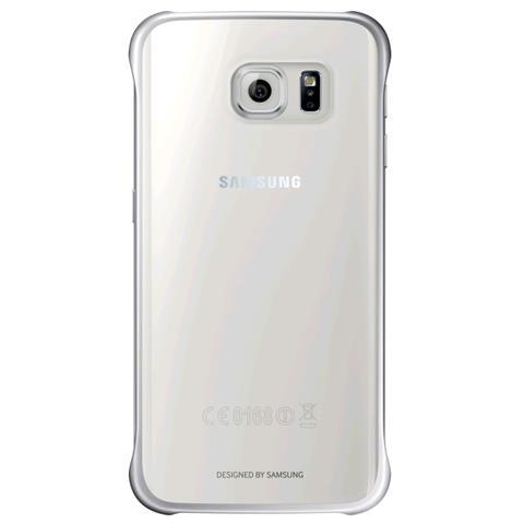SAMSUNG Cover per Galaxy S6 Edge - Colore Silver