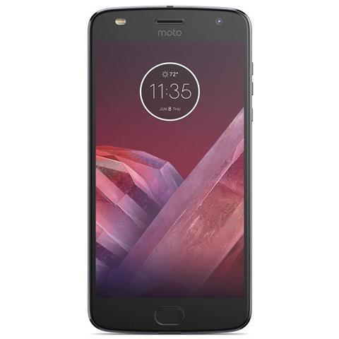 "MOTOROLA Moto Z2 Play Grigio 64 GB 4G / LTE Display 5.5"" Full HD Slot Micro SD Fotocamera 12 Mpx Android Tim Italia"