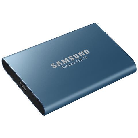 SSD Portatile 250 GB T5 2.5'' Interfaccia USB 3.1 (Gen 2) Colore Blu