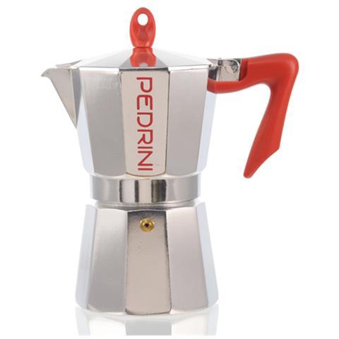 Caffettiera 6 Tazze Brillantata Modello Kaffettiera