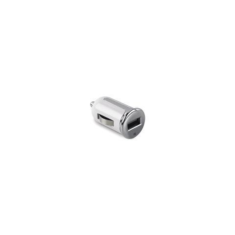 CELLY Caricabatteria da Auto Universale con Porta USB 2.4A Bianco
