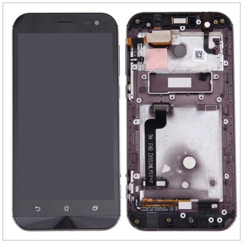 BOMA Schermo Display Lcd Touch Screen Con Frame Asus Zenfone Zoom 5.5 Zx551ml