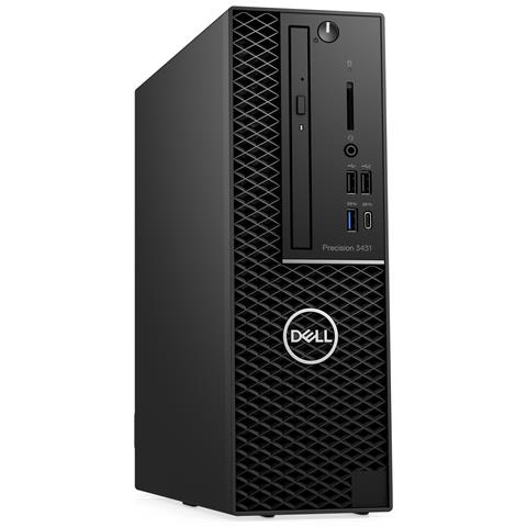 Image of Pc Desktop Precision 3431 Intel Core i5-9500 Hexa Core 3 GHz Ram 8GB SSD 256GB 5xUSB 3.0 1xUSB 3.1 Windows 10 Pro