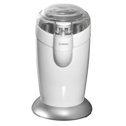 Macinacaffè Elettrico 604460-EU Con Lama Potenza 120W Colore Bianco