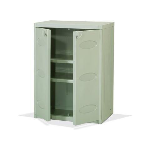Armadietti Plastica Per Esterni.Bianco Armadietto Mobile Base Per Esterno Mod 5500 In Plastica
