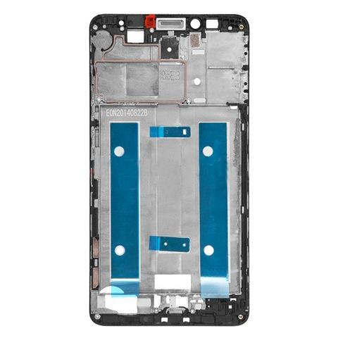 BOMA Telaio Scocca Centrale Cornice Frame Huawei Ascend Mate 7 Bordo Black Nero