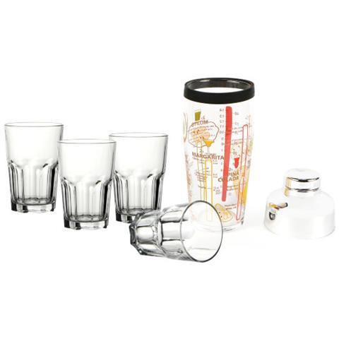 Samba-set Drink 5 Pz. Scatola Lito H8929
