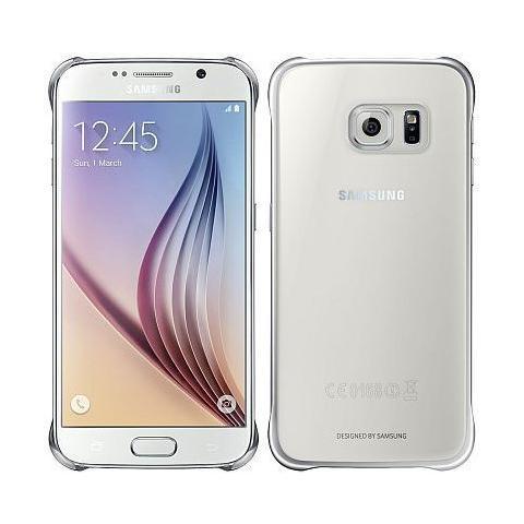 SAMSUNG Cover Clear per Galaxy S6 Silver