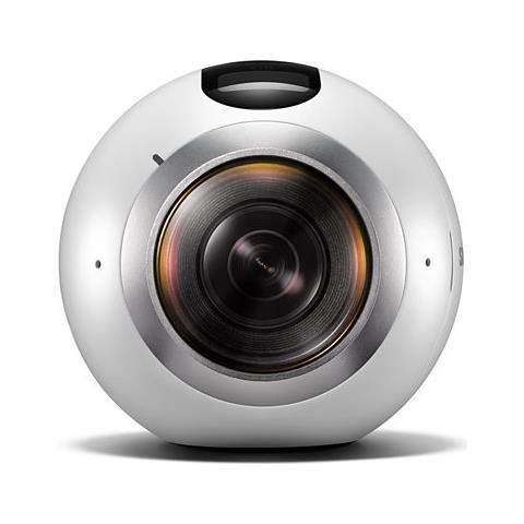 Image of Gear 360 Videocamera Registra E Scatta A 360°, Bianco