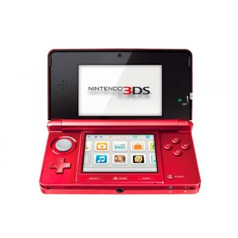 Image of Console Nintendo 3DS Metallic Red - Colore Rosso
