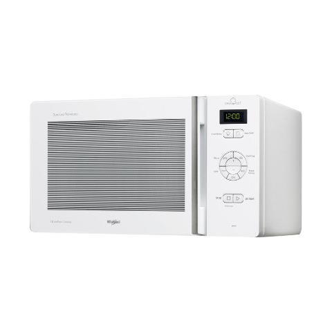 WHIRLPOOL Forno a Microonde MCP345WH con Grill e Cottura a Vapore Capacità 25 Litri Potenza 800 Watt Colore Bianco