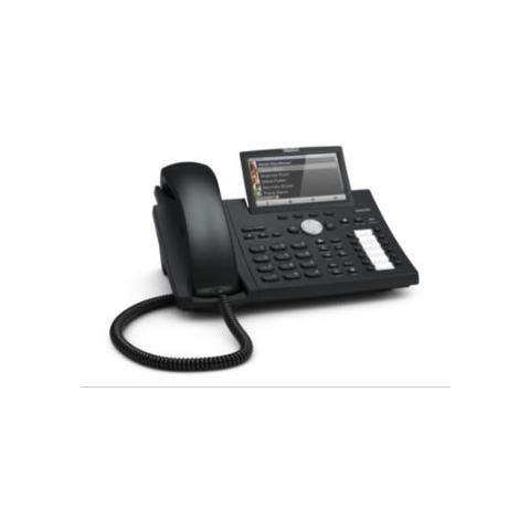 Snom D375 Professional Business Phone bk   ohne Netzteil