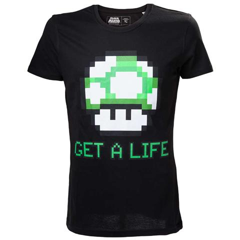 BIOWORLD Nintendo - Mario Legacy Black (T-Shirt Unisex Tg. M)