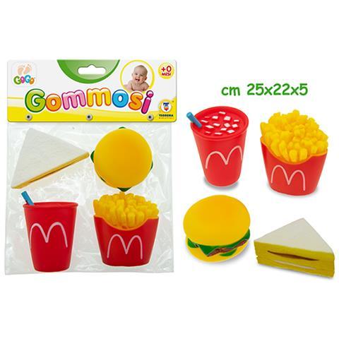 TEOREMA Gogo - Gommosi Fast Food 4 Pz - Busta