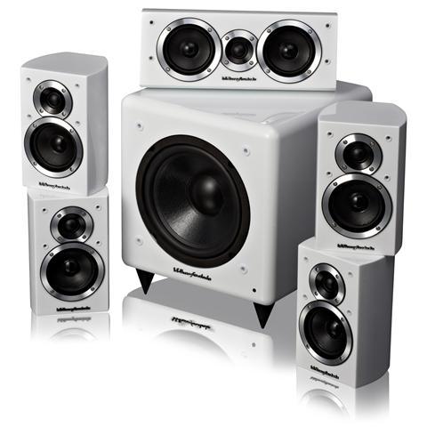WHARFEDALE Moviestar DX-1 White Kit diffusori HT
