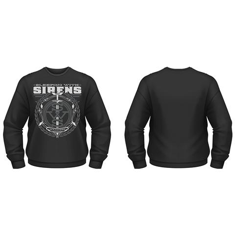 PHM Sleeping With Sirens - Crest (Felpa Unisex Tg. L)