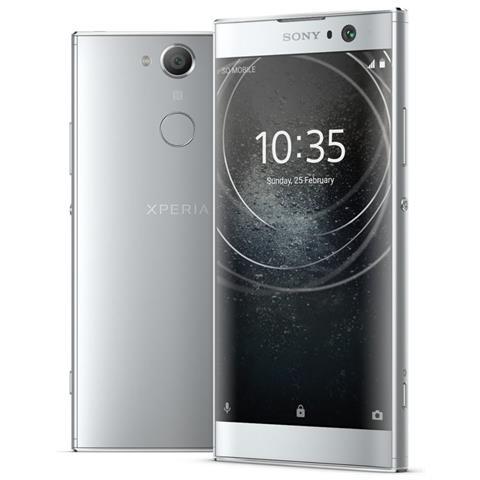 "SONY Xperia XA2 Ultra Argento 32 GB 4G / LTE Dual Sim Display 6"" Full HD Slot Micro SD Fotocamera 23 Mpx Android Italia"