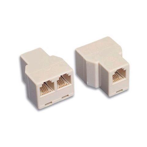 INTELLINET IWP-ADAP-0316 - Accoppiatore telefonico 2x 6P6C F a 6P6C F