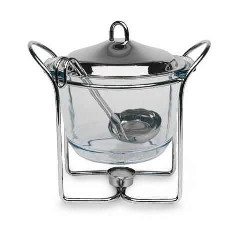 Assheuer und Pott Pentola per Feuerzangenbowle con accessori 5 pezzi