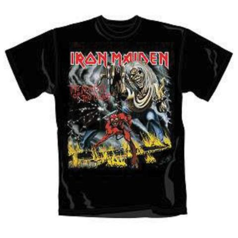 ROCK OFF Iron Maiden - Number Of The Beast Black (T-Shirt Unisex Tg. 2XL)