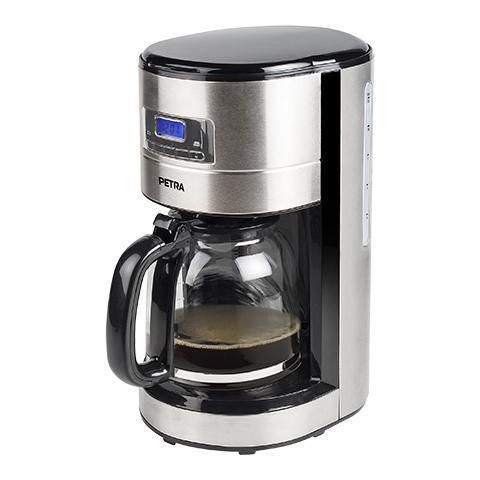 Macchina da Caffè con Filtro KM 54.35 Serbatoio 1.8 Lt. Potenza 1000 Watt Colore Inox
