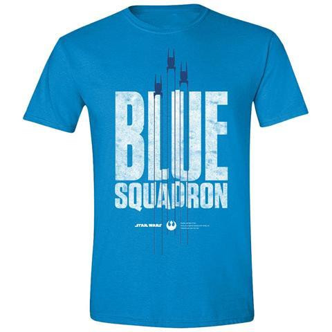 TimeCity Star Wars Rogue One - Blue Squadron (T-Shirt Unisex Tg. XL)