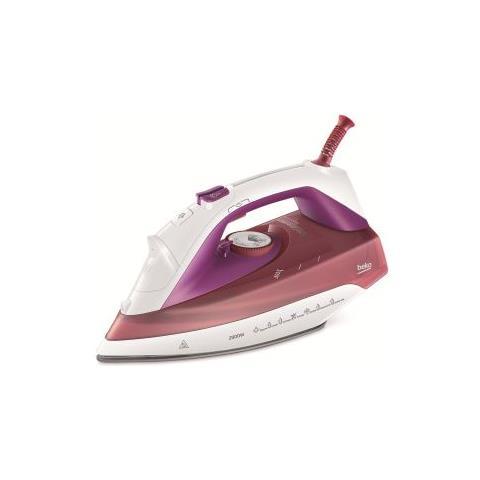 BEKO Ferro da Stiro a Vapore SteamXtra Pro Potenza 200 Watt Colore Bianco / Rosso