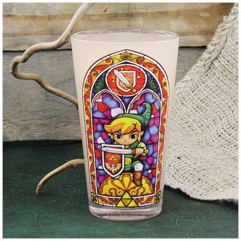 Nintendo: Legend Of Zelda (the) - Zelda Link (bicchiere)
