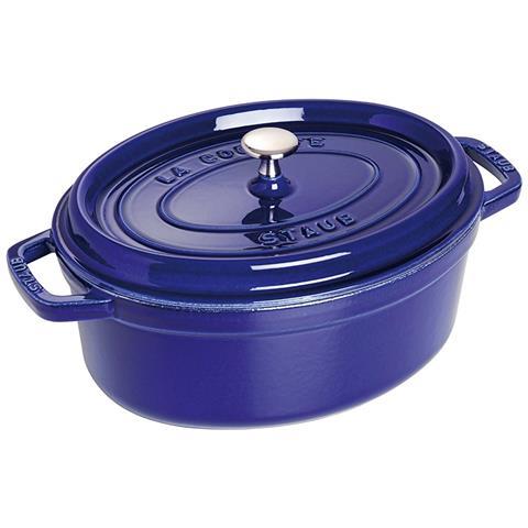 Cocotte in Ghisa con Coperchio Diametro 29 cm Capacità 5 lt Colore Blu Scuro - Linea La Cocotte