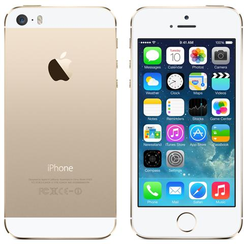 iPhone 5s 16 GB Oro