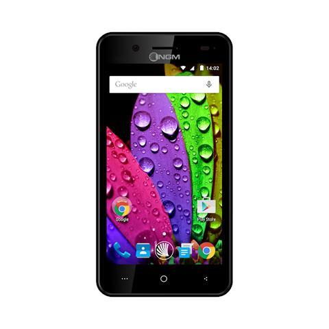 """NGM Dynamic E450 Nero 4 GB Dual Sim Display 4.5"""" Slot Micro SD Fotocamera 5 Mpx Android Italia"""