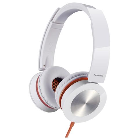 PANASONIC Cuffia RP-HXS400E Ad Archetto colore Bianco
