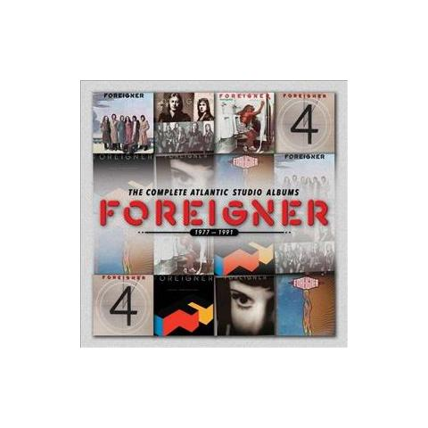 WARNER BROS Cd Foreigner - Csa: The Complete (77-91)