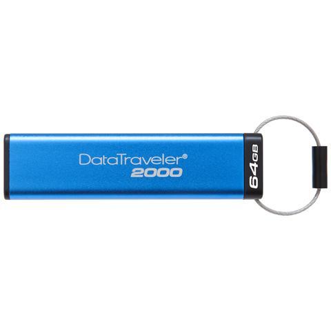 Chiavetta USB 64 GB DataTraveler 2000 Interfaccia USB 3.0 Colore Blu