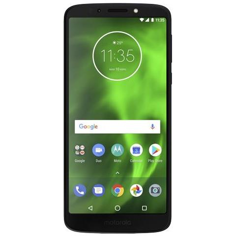"MOTOROLA Moto G6 Play Blu Scuro 32 GB 4G / LTE Dual Sim Display 5.7"" HD+ Slot Micro SD Fotocamera 13 Mpx Android Italia"