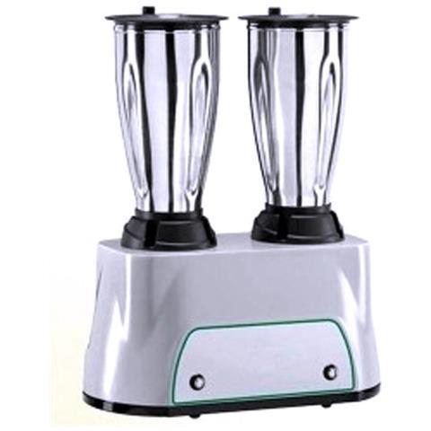 Frullatore professionale Blenders - 2 Bicchieri Lt. 1,5 + 1,5 in acciaio inox