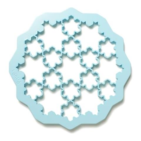 Forma Biscotti Cookie Puzzle Fiocco Neve Cm 24x1,5