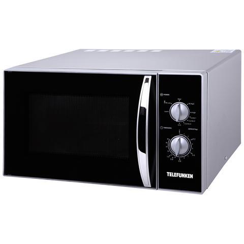 M01627 Forno Microonde con Grill Capacità 23 Litri Potenza 800 Watt Colore Nero / Argento