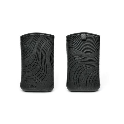 CELLY black vertical case big size