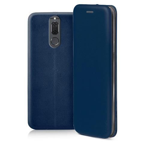 FONEX Profile Book Custodia a Libro per Huawei Mate 10 Lite Colore Blu