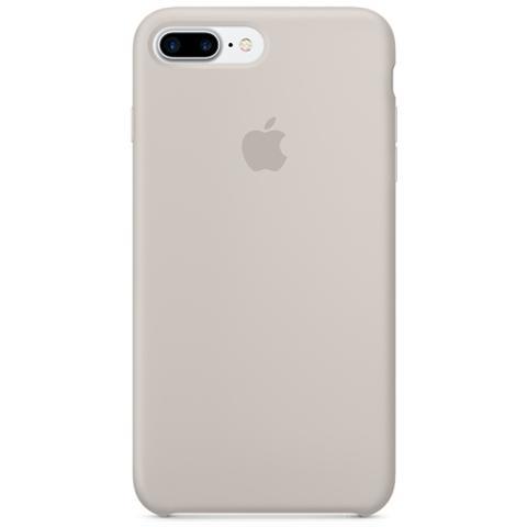 APPLE Cover in Silicone per iPhone 7 Plus - Tortora