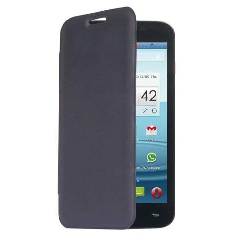 MEDIACOM Custodia Flip per Cellulare PhonePad Duo G500 Colore Blu