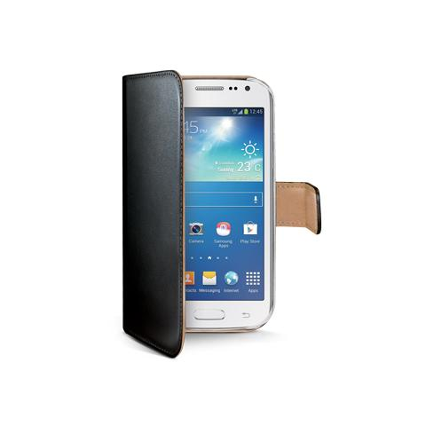 CELLY bk pu wallet case galaxy core LTE