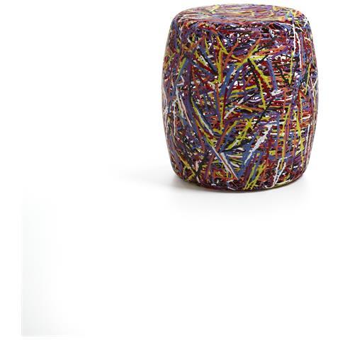 Emporium Puof Satori Plastico Termofuso Multicolor Componenti D'arredo Design
