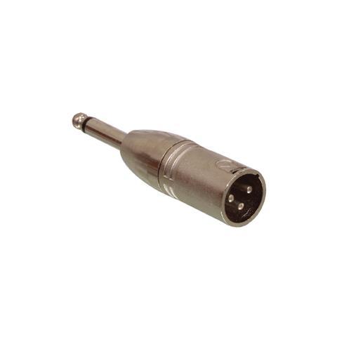 VALUELINE XLR 3p - 6.35mm, M / M, XLR 3p, 6.35mm, Maschio / maschio, Bronzo, Metallo, 2 cm