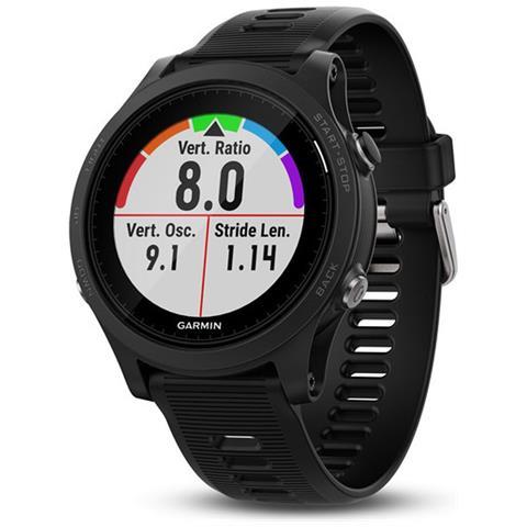 GARMIN Sportwatch GPS Forerunner 935 Resistente all'acqua 5 ATM con Bluetooth per Multisport e Cardiofrequenzimetro Nero