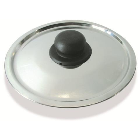 Coperchio in Acciaio Inox Diametro 30 cm