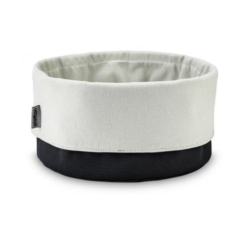 Stelton Portapane in tessuto colore nero / sabbia