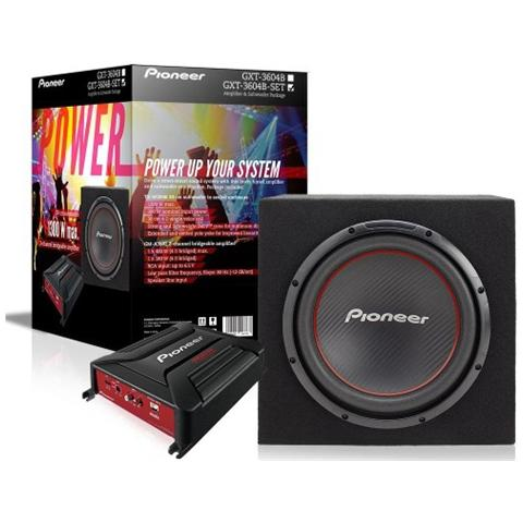 PIONEER GXT-3604-B-SET 2channels 180W amplificatore audio per auto