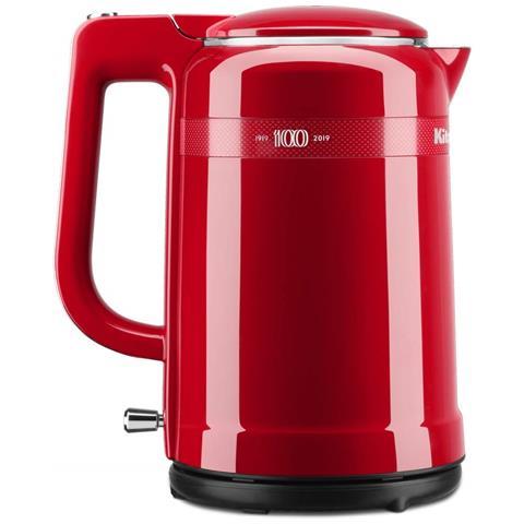 Bollitore Elettrico 5KEK1565HESD Queen of Hearts Capacità 1.5 Litri Potenza 2400 Watt Colore Rosso Passione